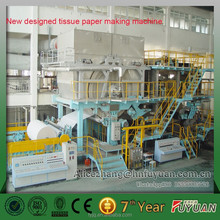 OEM Wholesale Soft Tissue paper making machine supply, tissue paper line trun-key solution
