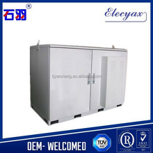Beautiful design double wall metal enclosure/air conditioning outdoor cabinet SK-12090 with lock and other accessory