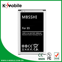 Wholesale Cell Phone Accessories EB-BG900BBC Mobile Phone Rechargeable Battery for Samsung Galaxy S5 Battery