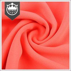 Shaoxing supplier Women garment use Silk like crinkle chiffon fabric pakistan
