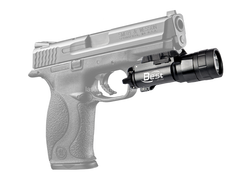 LED 500 Lumen white lightLED Weapon Light with Picatinny rail handgun JG-2A bob laser