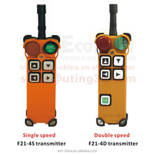 4 buttons wireless radio remote control for crane F21-4D radio control universal crane wireless remote control