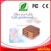 Promotional gifts fashion environmental woodiness power bank 2600mah