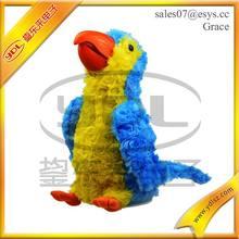 Unique Design Lovely Plush parrot Stuffed Soft Polar Animal Kids Toy Plush Toy