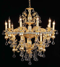 araña de cristal accesorios de iluminación