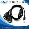 2 Port FTDI USB to Serial RS232 Adapter Cable with COM