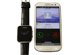 """Fashion Design Smart Watch Phone Vibrating and 1.48"""" Display"""