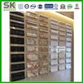 nueva piedra productos material de construcción compuesto plástico de mármol artificial zócalo decorativo