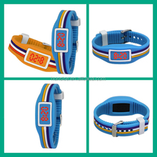 LED watch instructions, touch LED watch, silicone watch