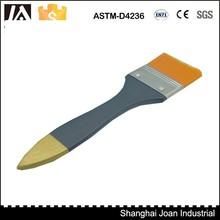 Difference size nylon wooden handle paint brush