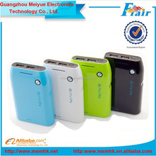 Portable power bank CE, FCC, RoHS BAVIN PC257 POWER BANKS