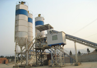 Construction machinery names HZS60 concrete batching plant