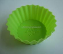 Fashionable Silicone Muffin Cupcake Mold, cartoon cupcake, flower shape silicone cupcake mold