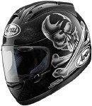 Arai Rx7 Corsair Hayes Jolly Roger Black Helmet