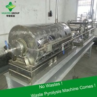 Easy Getting License Small Mini Waste Tire Plastic Pyrolysis Plant Sold to Brazil
