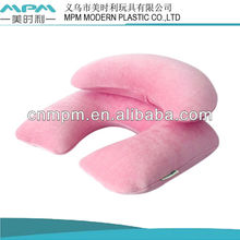pvc airpillow.inflatable flocked pillow