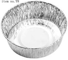 disposable aluminum foil food plates of item no Y8