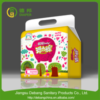 Baby diaper stock manufacturing plant