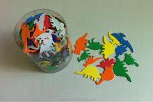 Melors EVA foam craft dinosaur shapes formamide-free