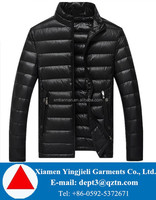 Get Your Clothing Designs Made Canada Man Style Windproof Goose Down Jacket