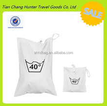 China hot sale nice pratical nylon promotional commercial dirty laundry bag