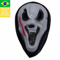 Drop shipping from Brazil 2015 new product halloween mask latex 10005! PP halloween deminio mascara de halloween party