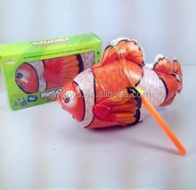 Electric Light Music Universal Lantern Rotating Clown Fish
