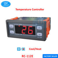 RINGDER RC-112E Cool Heat ON/OFF Relay Switch Universal Digital Temperature Controller