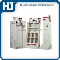 China supply big capacity cardboard pocket display stand for kodak digital camera and mobile accessory