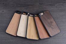for wood iphone case for wooden iphone 6 6s case TPU high quality full protective fashionable design factory OEM/ODM welcome