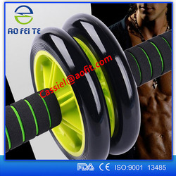 AB Wheel Abdominal Waist Gym Fitness Roller StretchTraining Exercise Equipment