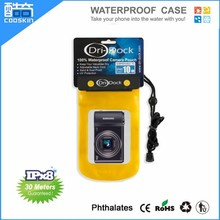 Cooskin PVC cheap waterproof camera case for camera/waterproof camera bag