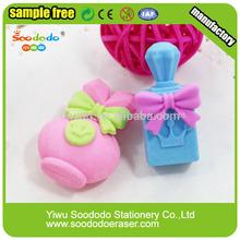 bottiglia di profumo ragazza regalo divertente a forma di gomme da cancellare