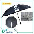 2015 nova invenção de alta qualidade à prova de vento personalizado promocional guarda-chuva de golfe