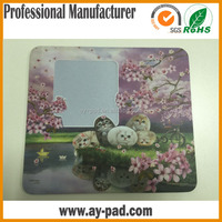 AY Photo Mouse Pad Black Custom Family Collage Picture Insert Frame