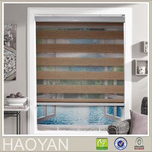 Haoyan Korean style popular zebra roller office curtains and blinds