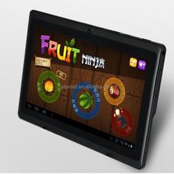 Wholesale cheapest 7'' android 4.4 super smart allwinner A33 quad core tablet pc Q88