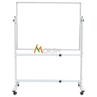 Double sided Adjustable Movable Magnetic Whiteboard stand for classroom and office