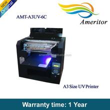 Entire New uv printer for phone case/golf ball/ pen/card /mug