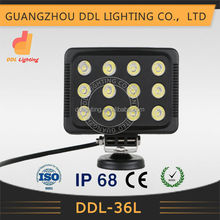Made in China 10-30v truck worklight IP68 led tractor 36w light with high quality and low price