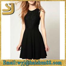 Shangyi latest design backless high slits evening dress