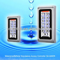 IP68 waterproof standalone access control system
