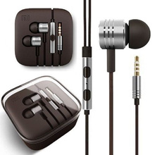 New Version Golden Color XIAOMI Piston II Earphone Headphone with Remote Mic For XIAOMI MI2 MI2S MI2A Mi1S M1 Phones