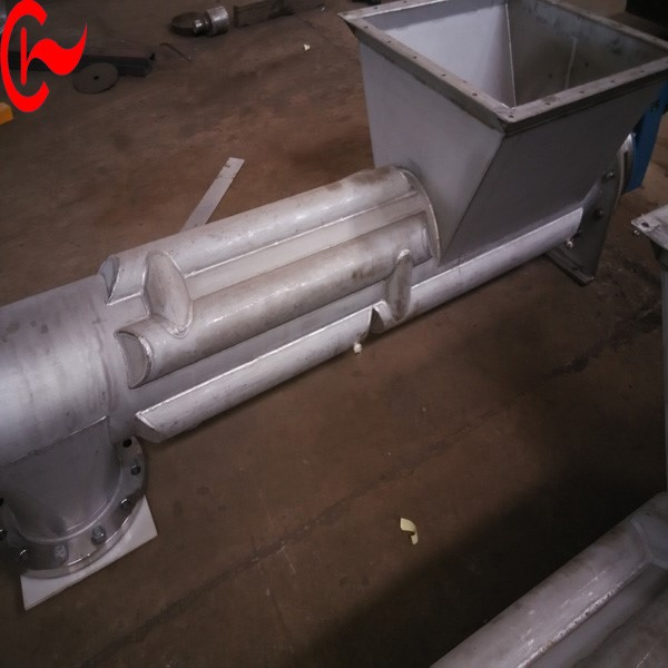 Stainless Steel Food Paste Cooling Screw Conveyors Made in China