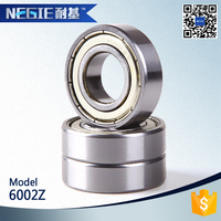 China supplier Cixi Negie factory made high speed precision 6002 motorcycle goodness bearing