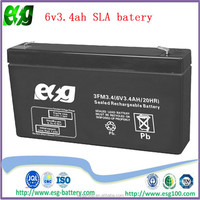 security system12v3.4ah ups battery selead lead acid battery