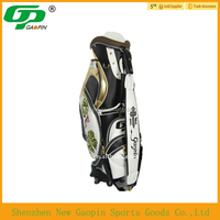 High quality PU leather golf bag chinese manufacture for cheap price