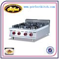 equipo de restaurante 4 quemadores de gas cocina
