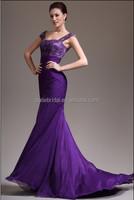 Elegant Hight quality handwork diamond bodice mermaid evening dress online shopping