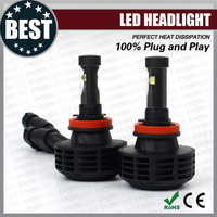 New all-in-one led headlight conversion kits h4 h7 h8 9005 9006 led head light for cars